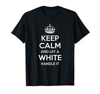 IDEA WHITE Funny Surname Family Tree Birthday Reunion Gift T-Shirt