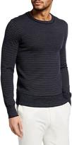 Ralph Lauren Purple Label Men's Striped Cashmere Sweater