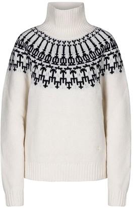 Tory Sport Fair Isle merino wool sweater
