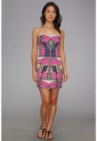 Mara Hoffman Strapless Party Dress (Caravan Magenta) - Apparel