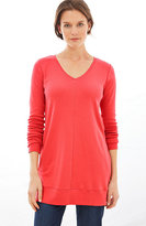 J. Jill Perfect Pima V-Neck Tunic