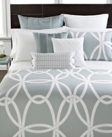Hotel Collection Modern Gate Pair of Standard Shams