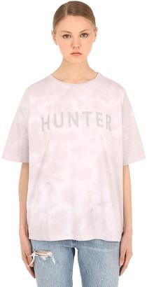 Hunter Siberia Hills Shadow Cotton Jersey T-shirt
