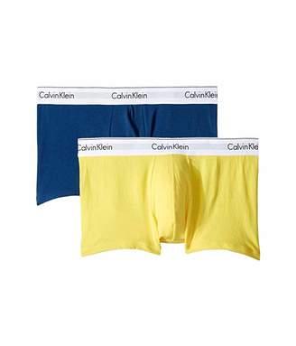 Calvin Klein Underwear Modern Cotton Stretch Trunk 2 Pack