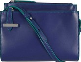 Lodis Women's Audrey Trisha Double Zip Wallet On A String