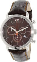 88 Rue du Rhone Men's 87WA140029 Analog Display Swiss Quartz Black Watch