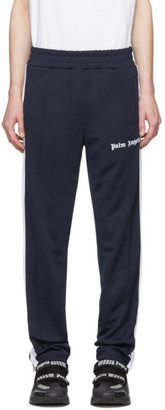 Palm Angels Navy Classic Track Pants
