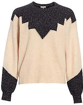 Joie Women's Zinca Colorblock Wool-Blend Sweater