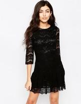 Iska Fril Bottom Lace Dress