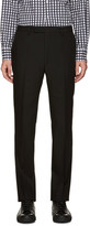 Raf Simons Black Wool Trousers