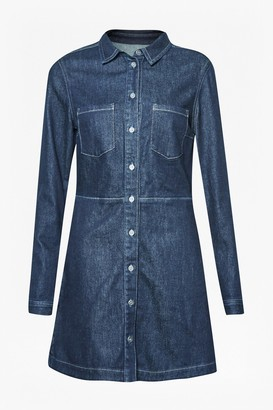 French Connection Edie Denim Mini Dress