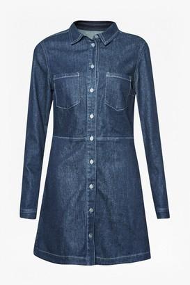 French Connection Edie Denim Mini Dress