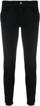 Liu Jo Cropped Slim-Fit Jeans