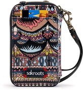 Sakroots Artist Circle Smartphone Wristlet (For Women)