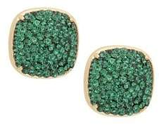 Kate Spade Small Pave Square Stud Earrings