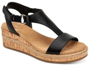 Giani Bernini Terrii Wedge Sandals, Created for Macy's Women's Shoes