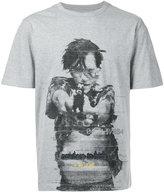 Juun.J handgun print T-shirt - men - Cotton - 46