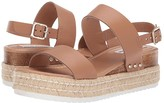 Steve Madden Catia Wedge Sandal (Natural Leather) Women's Wedge Shoes