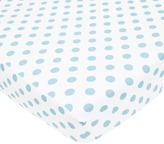 T.L.Care TL Care Polka-Dot Flannel Crib Sheet