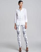 Roberto Cavalli Printed Jeans