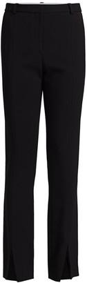 Victoria Beckham Front Split Trousers