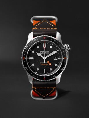 Bremont - Endurance Limited Edition Automatic GMT 43mm Titanium Watch - Men - Black