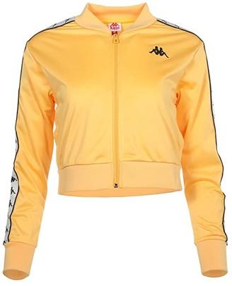 Kappa Banda Asber (Yellow Banana/White Egg/Black) Women's Clothing