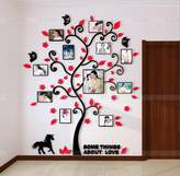 Baron W.H Photo Tree stickers Wall Stickers creative 3D stereo wall acrylic living room sofa bedroom wall mural Warm home decoration paste, A, 824x1000mm