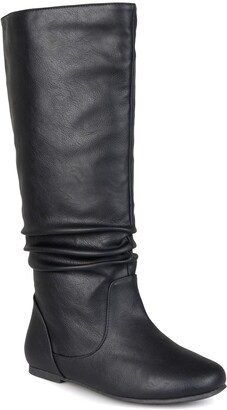 Journee Collection Jayne Ruched Tall Boot