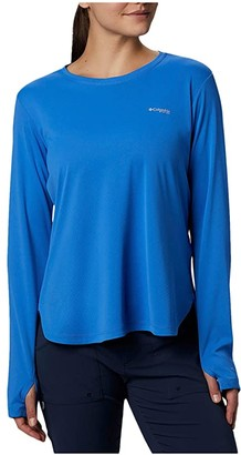 Columbia PFG Zero Long Sleeve Shirt (Stormy Blue) Women's Long Sleeve Pullover