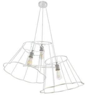 Dainolite 3 Light Incandescent Framed Pendant