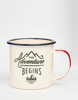 Gentlemen's Hardware Adventure Begins Enamel Mug