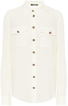 Balmain Silk georgette shirt