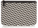 Pierre Hardy Cube-print coated-canvas pouch
