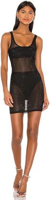 superdown Ivanne Studded Sheer Dress
