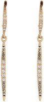 Judith Jack 10K Gold Plated Sterling Silver Crystal & Swarovski Marcasite Pave Spike Drop Earrings