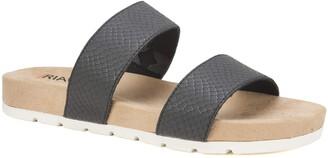 Rialto Tipsy Slide Sandal Black Size 8