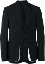 Givenchy double faced blazer - men - Silk/Polyester/Viscose/Wool - 46