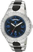 Croton Men's 'SUPER' Quartz Stainless Steel Casual Watch