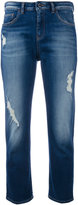Armani Jeans cropped jeans - women - Cotton/Spandex/Elastane - 26