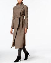 Kenneth Cole Wool-Blend Maxi Wrap Coat