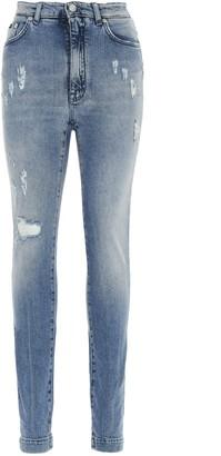 Dolce & Gabbana Audrey Distressed Jeans
