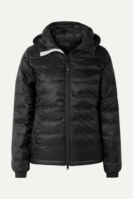 Canada Goose Camp Hooded Quilted Shell Down Jacket - Black