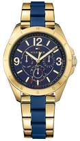 Tommy Hilfiger Sport Watch With Silicone Strap
