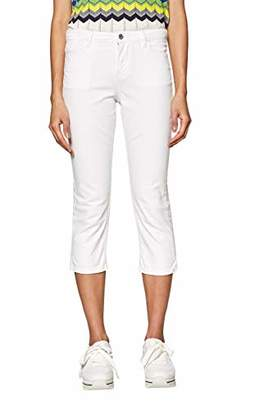 Esprit edc by Women's 039CC1B032 Straight Jeans, (White 100)