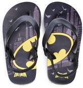 Licensed Character Toddler Boy DC Comics Batman Thong Sandals