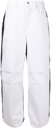 Alexander Wang Contrast Panel Jeans