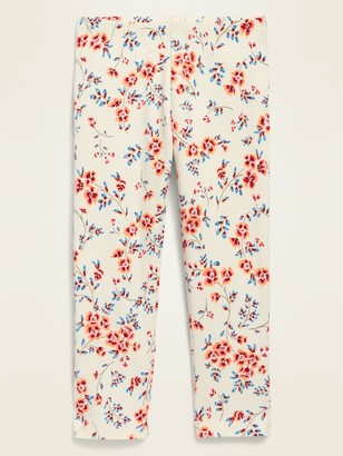 Old Navy Printed Full-Length Leggings for Toddler Girls