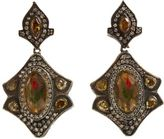 Sevan Biçakci Diamond & Amethyst Tulip Earrings