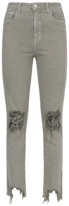 L'Agence High Line Ripped Skinny Jeans